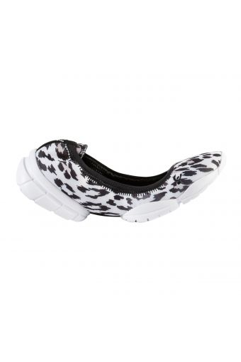 3Pro Ballet flats, ultra-light in D.I.W.O.® with triple sole and all-over animal pattern