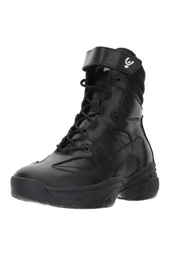 Ultralight black leather boot