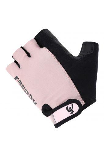 Fingerlose Sporthandschuhe aus zweifarbigem technischem Stoff