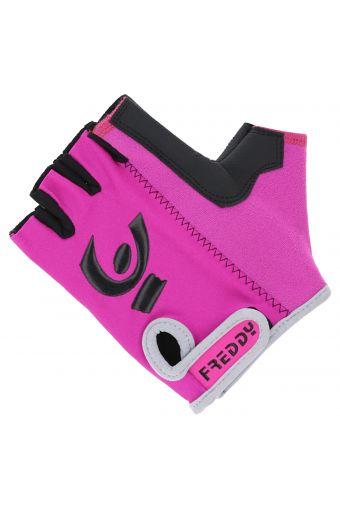 Fingerlose Sporthandschuhe aus technischem Stoff