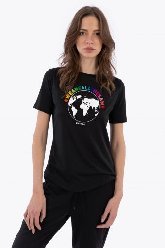 """Women's T-shirt """"We are all the same"""""""