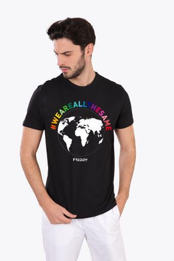 """Men's T-shirt """"We are all the same"""""""