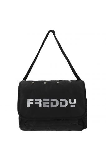 Messenger bag – medium size, with glitter-effect Freddy writing