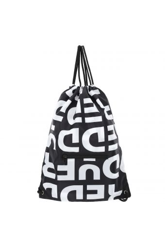 Packable nylon gym backpack with an all-over Freddy print