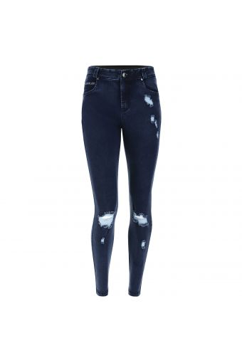 FREDDY BLACK jeans with a decorated pocket - Romero Britto Collection