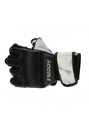 Women's cardio boxing padded gloves with vinyl inserts
