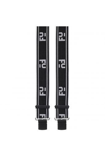 Hosenträger mit FY-Logo in schwarz und weiß