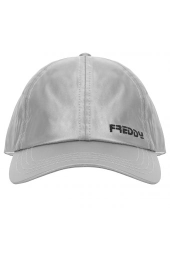 Embroidered baseball cap with a curved visor
