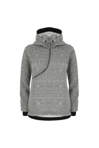 Embroidery-effect Curve sweatshirt