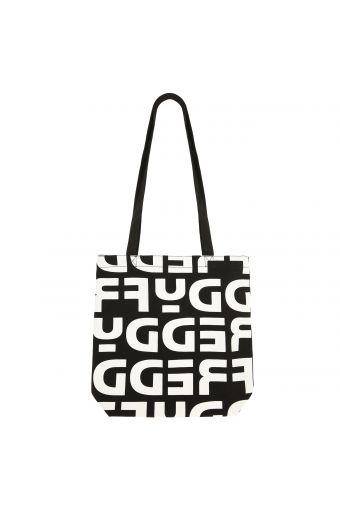 Freddy logo cotton tote bag