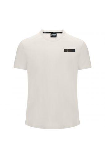 T-Shirt mit kurzem Arm und reflektierendem Aufdruck auf der Rückseite