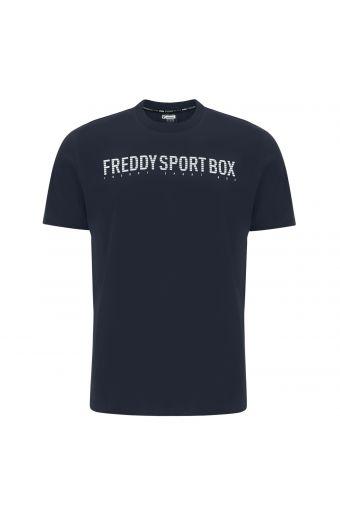 Camiseta de ajuste regular con estampado FREDDY SPORT BOX