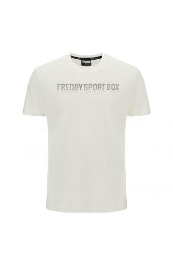T-shirt à la coupe classique avec imprimé FREDDY SPORT BOX