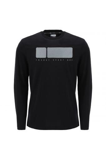 T-shirt manches longues avec grand imprimé No Logo Freddy