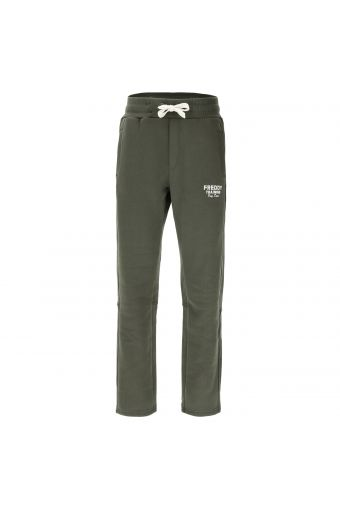 Athletic trousers with a drawstring waist