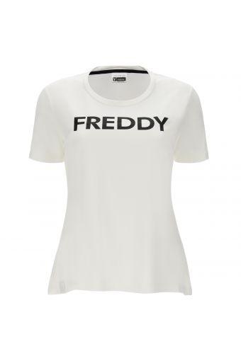 Stretch-T-Shirt mit Freddy-Logo