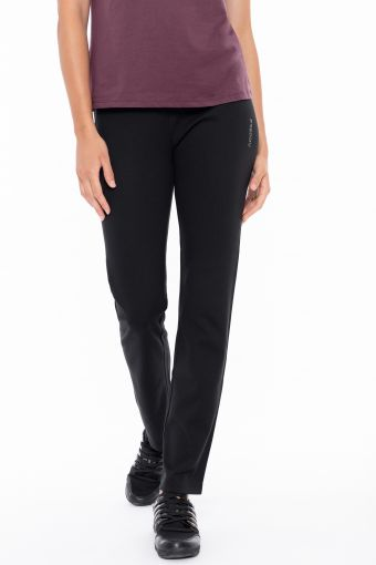 Athletic trousers with a micro-stud drawstring