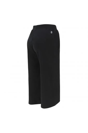 Cropped relaxed leg athletic trousers