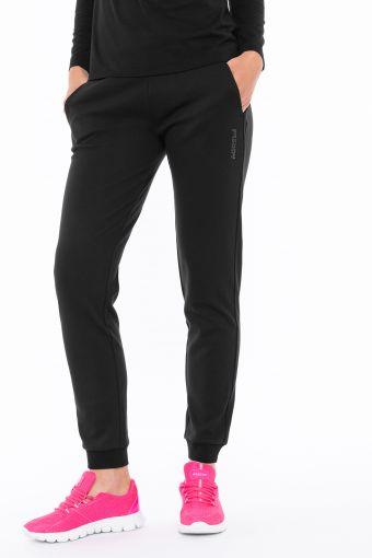Pantaloni sportivi in interlock con logo FREDDY gommato