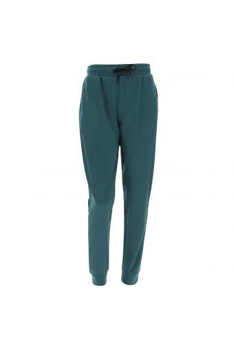 Pantalón deportivo de felpa con banda lateral decorada