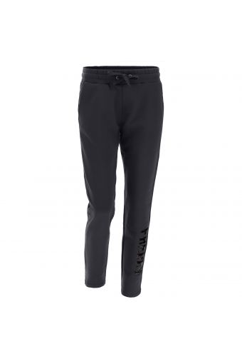 Fleece workout trousers with a sequin FREDDY logo