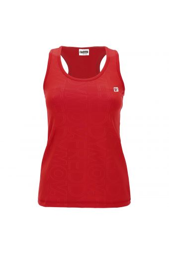 FREDDY MOV. racer back tank top in performance fabric