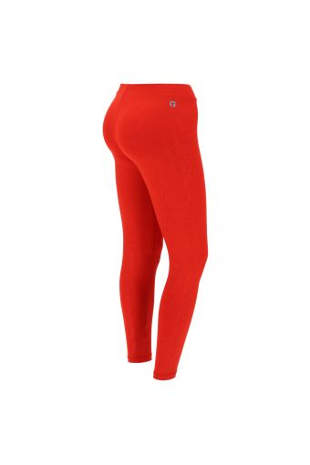 Performance fitness leggings with a FREDDY MOV. print