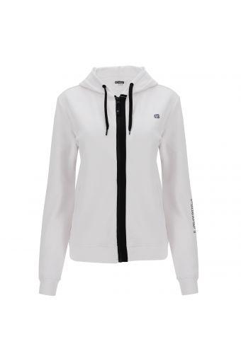 FREDDY MOV. zip-front hoodie