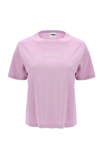 Komfort T-Shirt mit Maxi-MOV. Aufdruck auf der Rückseite