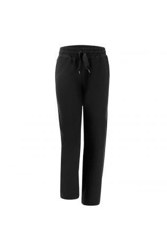 Pantaloni comfort fit con maxi coulisse e gamba dritta