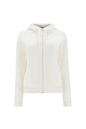 Sweatshirt mit Komfort-Passform mit Kapuze und Aufdruck auf der Rückseite