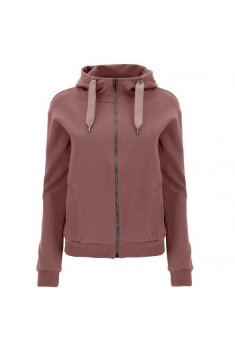 Comfort-fit SEEK FOR YOURSELF high-neck hoodie
