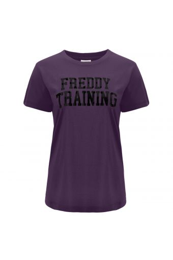 T-shirt FREDDY TRAINING a maniche corte in jersey leggero