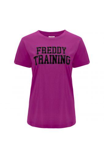 Camiseta FREDDY TRAINING de manga corta en tejido de punto ligero