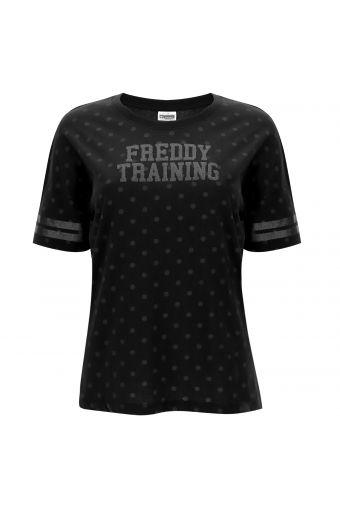 Polka dot comfort fit FREDDY TRAINING t-shirt.