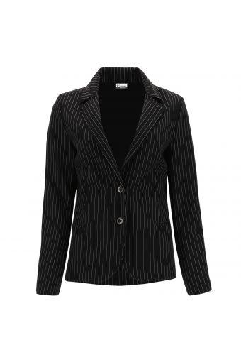 Pinstripe blazer