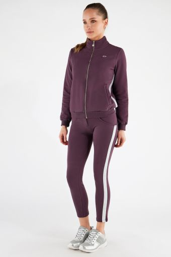 Women's WR.UP®-IN track suit with a high-neck jacket and shaping trousers