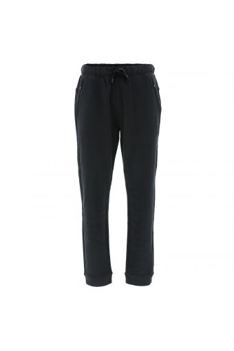 Joggers with zip pockets and loose cuffs