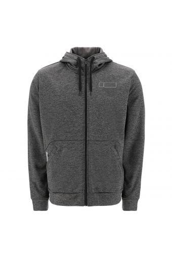 Dark grey melange FREDDY SPORT BOX hoodie