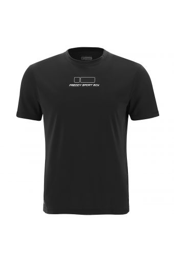 T-shirt in lightweight breathable performance fabric