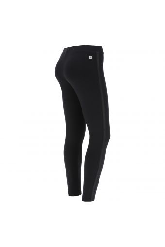 Stretch cotton leggings with Freddy tape