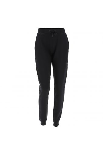 Cotton joggers with branded tape