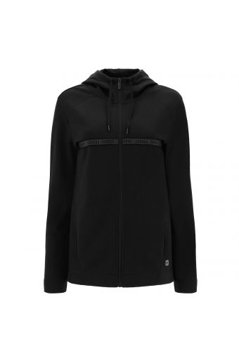 Cotton hoodie with Freddy branded tape