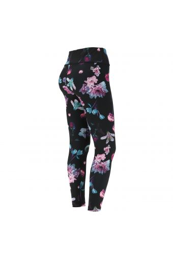 Floral print workout leggings in D.I.W.O.® fabric