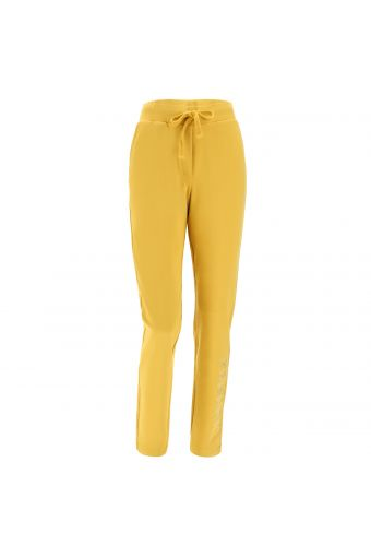 Athletic trousers with Freddy lurex embroidery