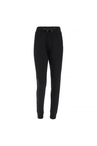 Joggers with lateral sequin bands