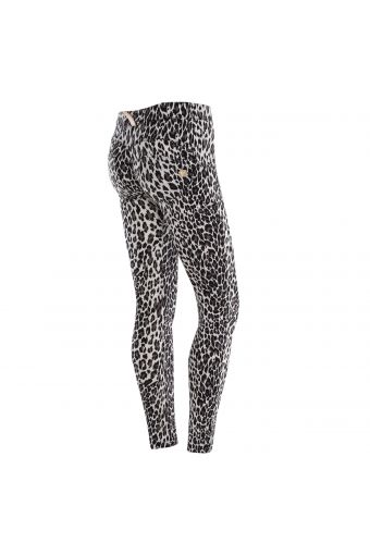 WR.UP® Skinny Regular Rise in D.I.W.O.® fabric with all-over print