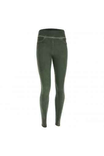 Vintage high-waist leggings