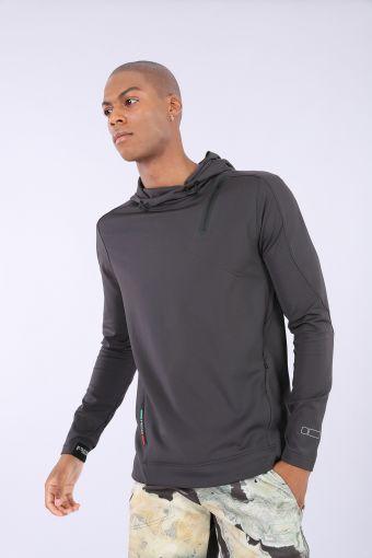 Slim fit hoodie - 100% Made in Italy
