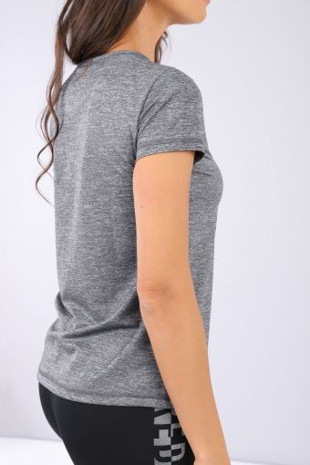 Breathable performance fabric workout t-shirt